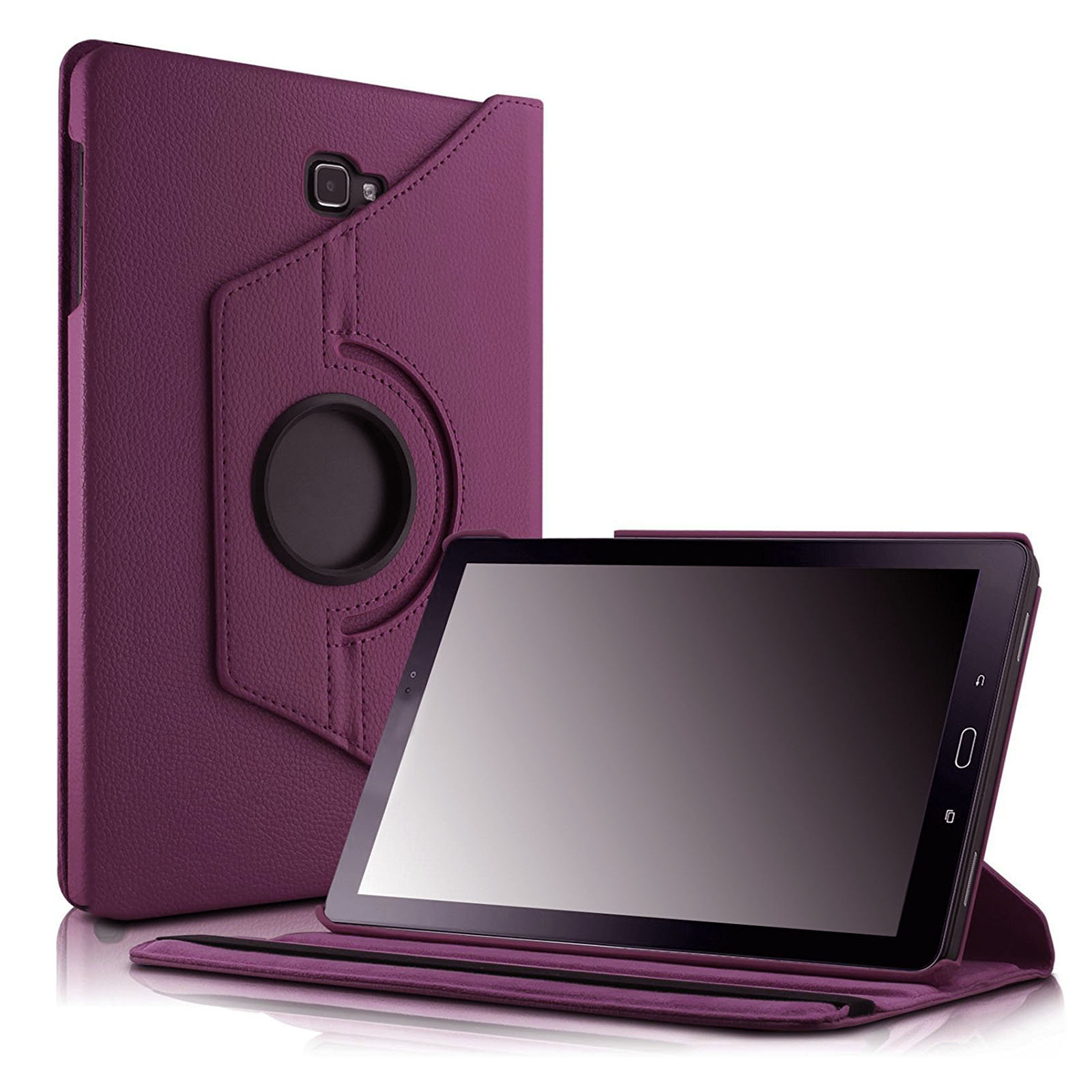Rotating Leather Smart Cover Stand Case For Samsung Galaxy Tab A 10.1 T580 T585