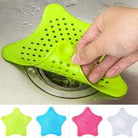 TekDeals Bathroom Drain Hair Catcher Bath Stopper Plug Sink Strainer Filter Shower Covers