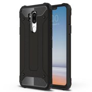 LG G7 Case, LG G7 ThinQ case, G7 CASE, KAESAR HEAVY DUTY PROTECTIVE Drop Protection Sleek Slim Fit Durable Anti-scratch Dual Layer Shockproof Dustproof Armor Cover Case For LG G7 (Black)