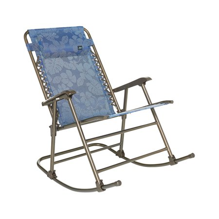 Super Bliss Hammocks Rocking Chair Pillow Blue Flowers Squirreltailoven Fun Painted Chair Ideas Images Squirreltailovenorg