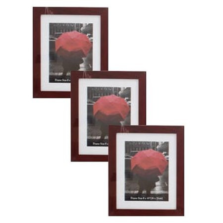 Weyli Wood 4x6 5x7 8x10 Picture Photo Frame With Thick Border 3