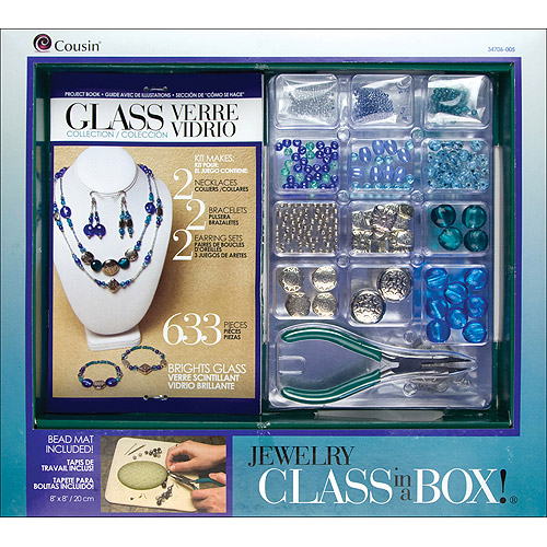 Cousin Jewelry Basics 'Bright Glass' Class In A Box Kit