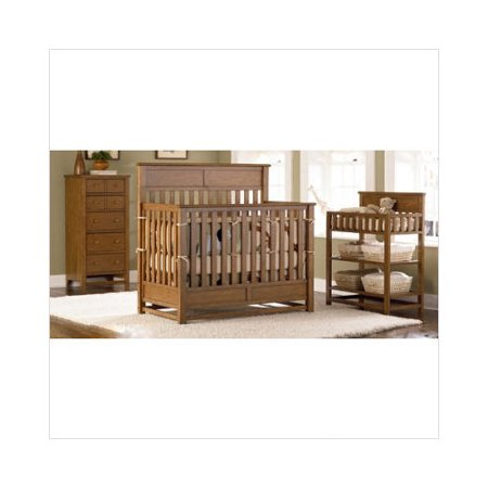 Bundle 78 Bassett Baby River Ridge 4 In 1 Convertible Crib Nursery Set