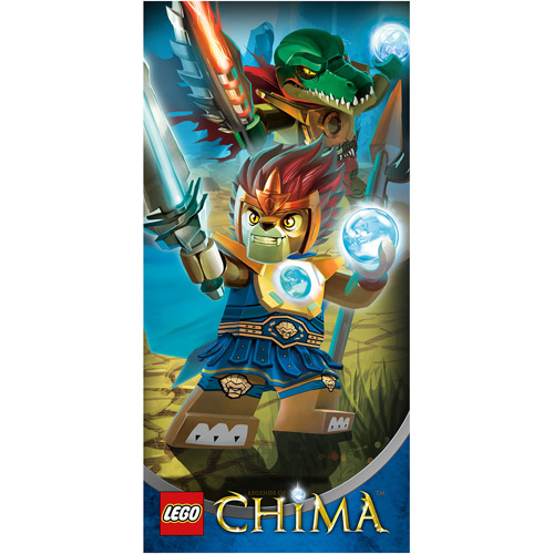 "Lego Chima ""Lion Attack"" 28"" x 58"" Licensed Beach Towel"