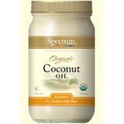 Organic Coconut Oil Spectrum Essentials 14 oz Oil