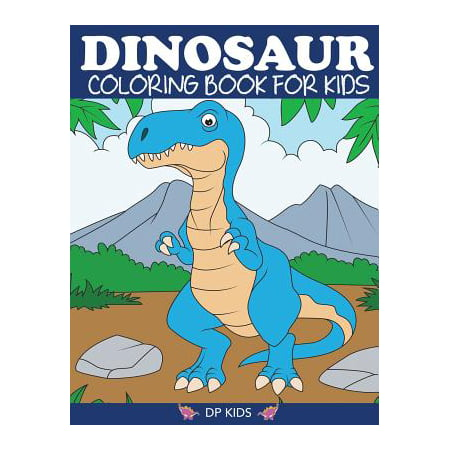 Dinosaur Coloring Book for Kids : Fantastic Dinosaur Coloring Book for Boys, Girls, Toddlers, Preschoolers, Kids 3-8, 6-8 - Kid Friendly Halloween Coloring Pages