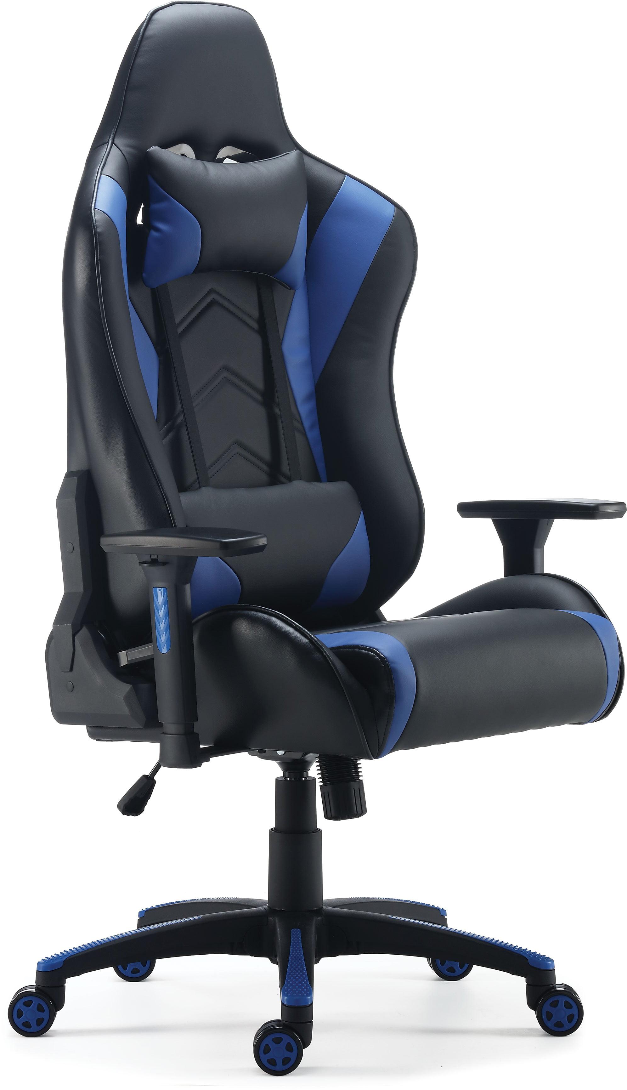 Staples Vartan Gaming Chair Blue 24326200 - Walmart.com - Walmart.com