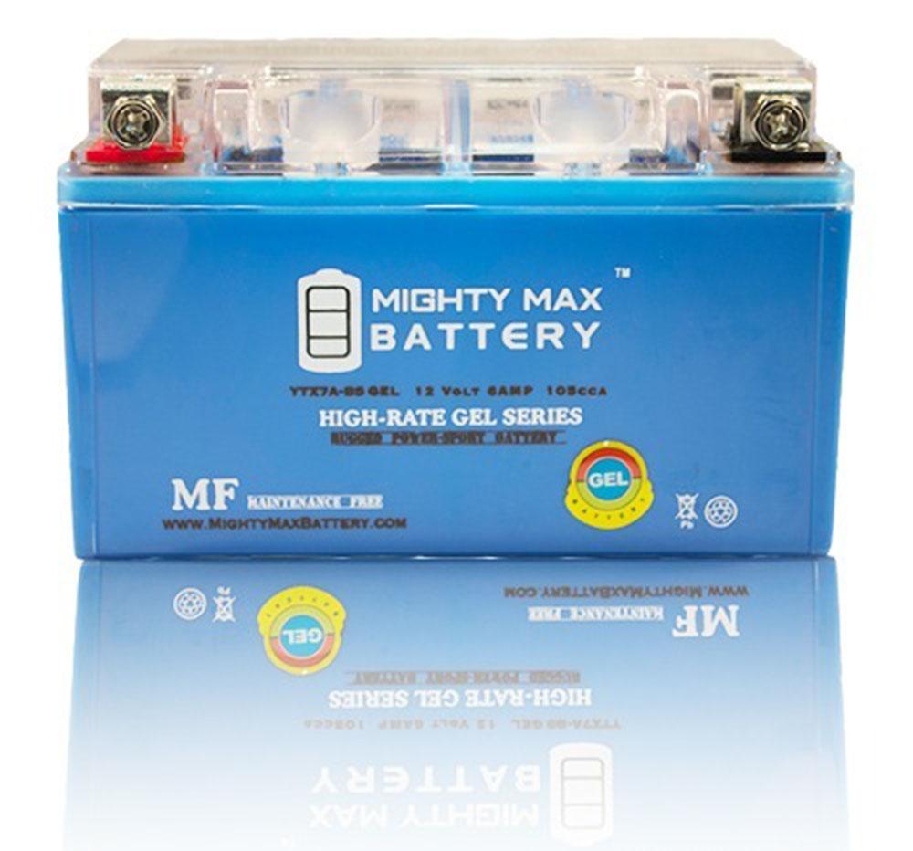 YTX7A-BS GEL 12V 6AH GEL Battery for Motorcycle