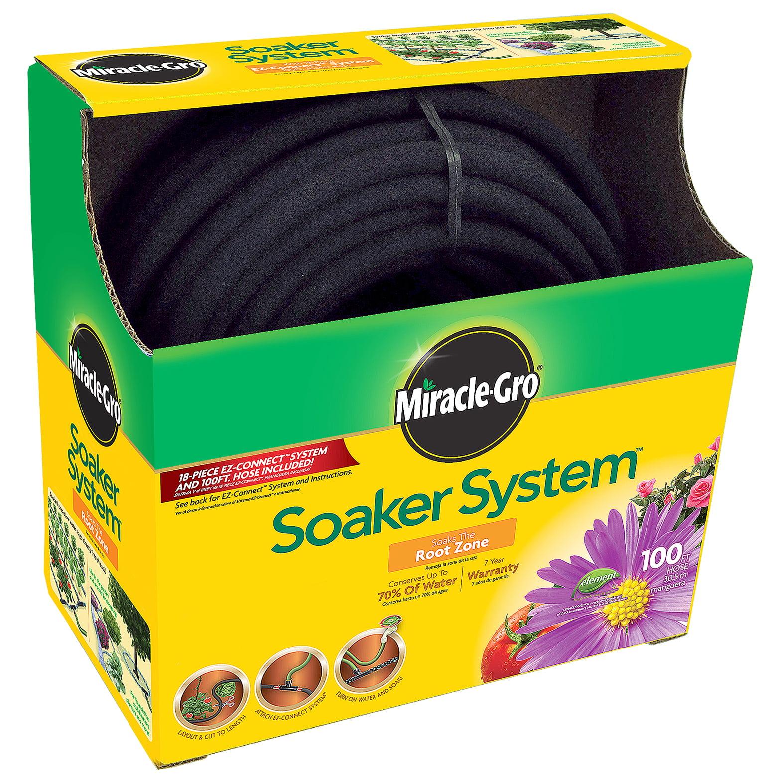 "Miracle Gro MGSPAK38100CC 3/8"" X 100' Miracle-Gro Soaker System"