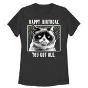 Grumpy Cat Women's You Got Old T-Shirt