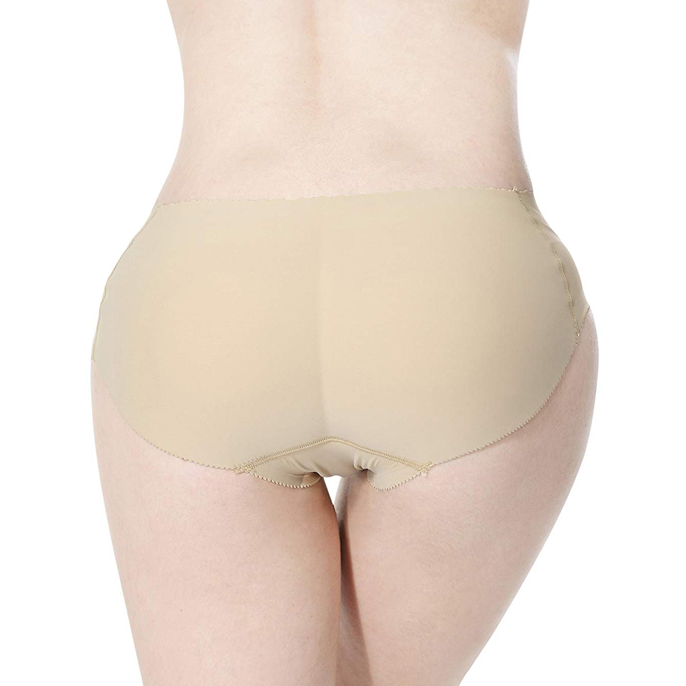 Silicone buttocks pads butt enhancer body shaper panty tummy control