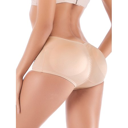 Butt Lifter Comfortable Padded Panties Enhancing Body Shaper Butt Lifter Underwear for Women ()