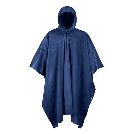 RPS TRAVEL/EMERG RAIN PONCHO NAVY BLUE