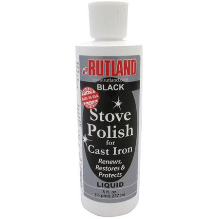 Liquid Stove and Grill Polish, 8 fl oz - Stove Polish