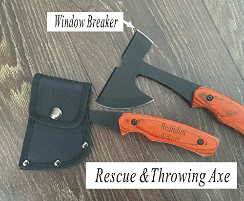 Set of 6 Personalized Hatchet Axes Groomsman, Groomsmen Gifts-Personalized Engraved Custom Axes for Men, for... by