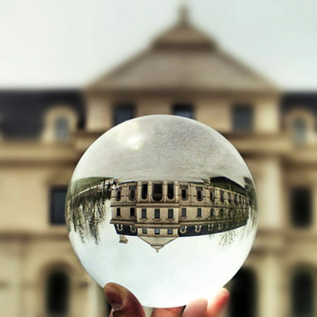 100mm K9 Crystal Glass Quartz Ball Magic Photographic Sphere Healing Lensball