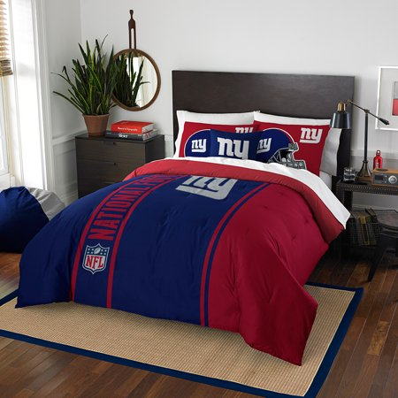 "New York Giants NFL Full Comforter Set (Soft & Cozy) (76"" x 86"") by"