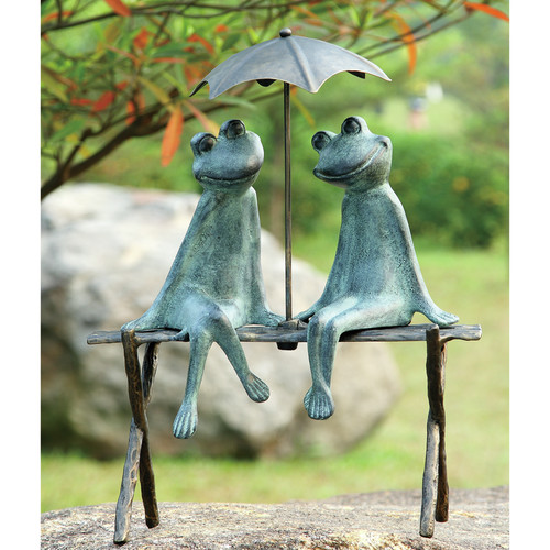 SPI Home Frog Lovers Garden Statue by SPI Home