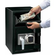 sentry safe 1 3 cu ft depository safe. Black Bedroom Furniture Sets. Home Design Ideas