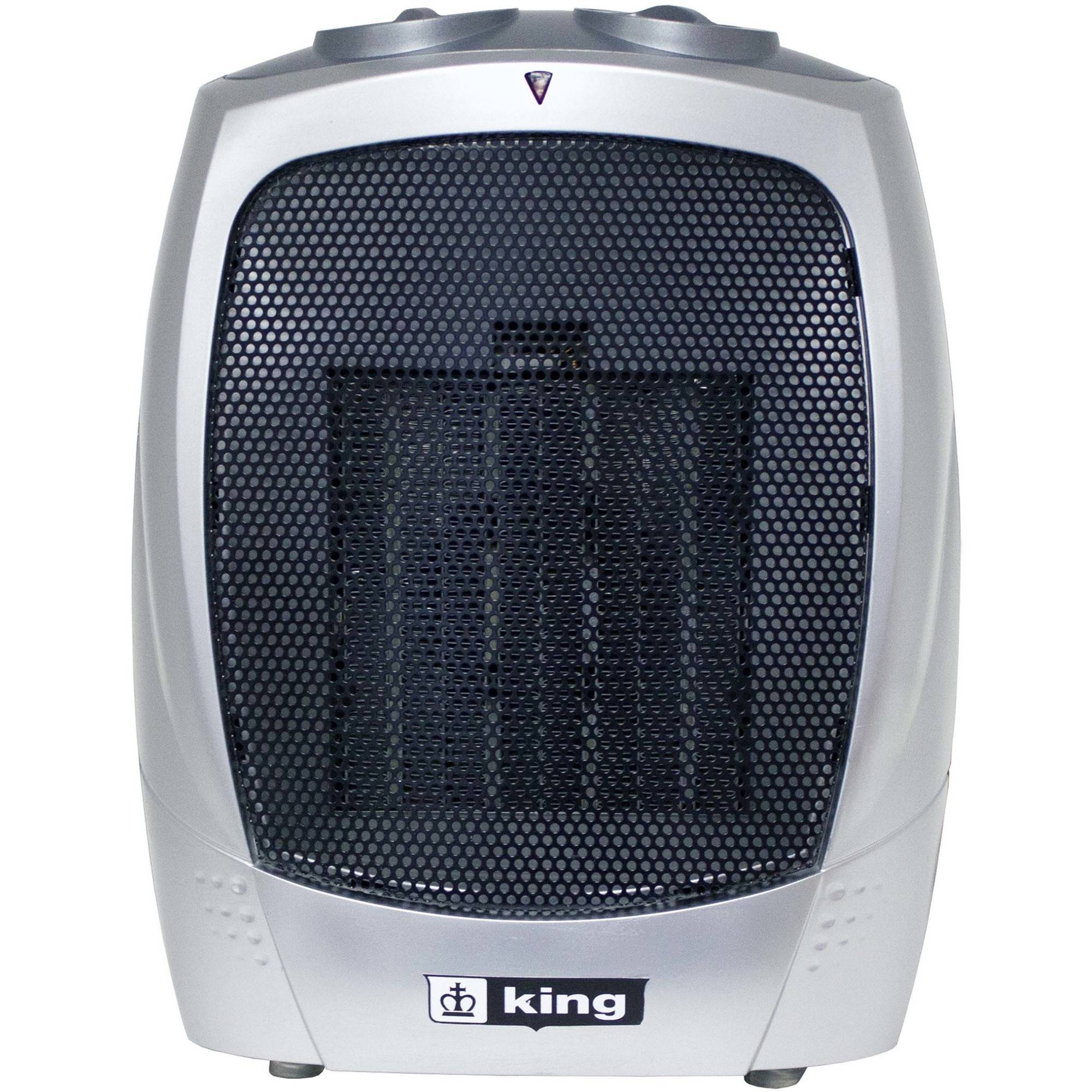 King PH-2 120V Portable Electric Heater, Grey