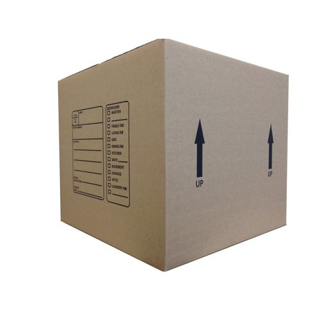 Bx181816 18 X 18 X 16 Inches Genuine Medium Moving Boxes  Pack Of 10  Ships Same Day Via Ups Ground From Ny  18X18x16 Shipping   Moving Boxes     By The Boxery