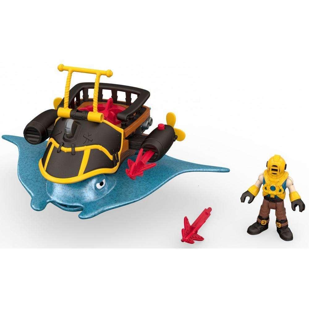 Imaginext Captain Nemo & Stingray