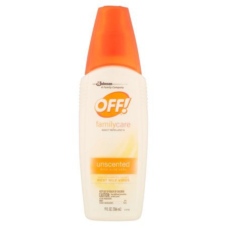 Sc Johnson Off  Familycare Unscented With Aloe Vera Insect Repellent Iv  9 Fl Oz