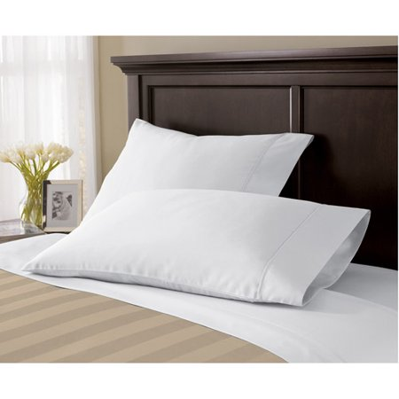 Select Edition 500 Thread Count Wrinkle Free Pillowcase Collection With Platinum Touch Finish 1 Each