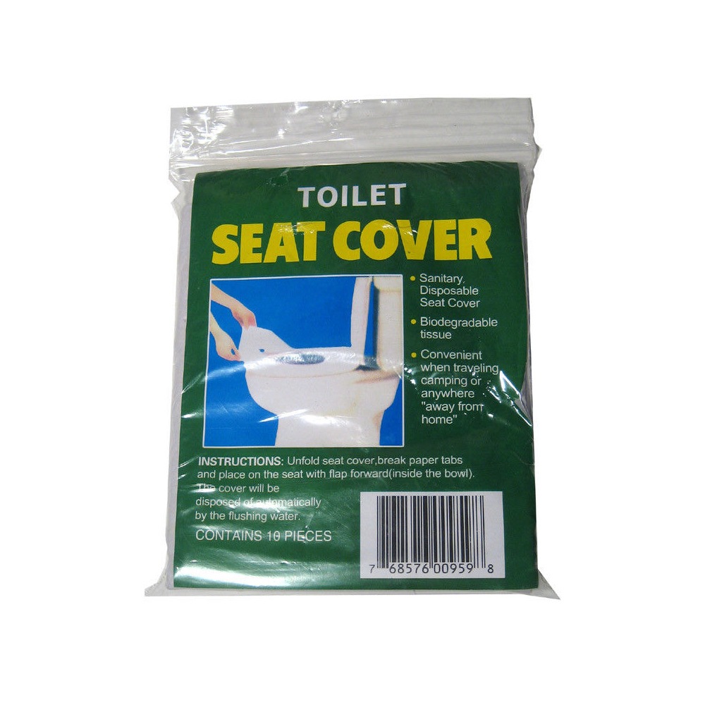 50 Disposable Toilet Seat Covers Paper Travel Biodegradable