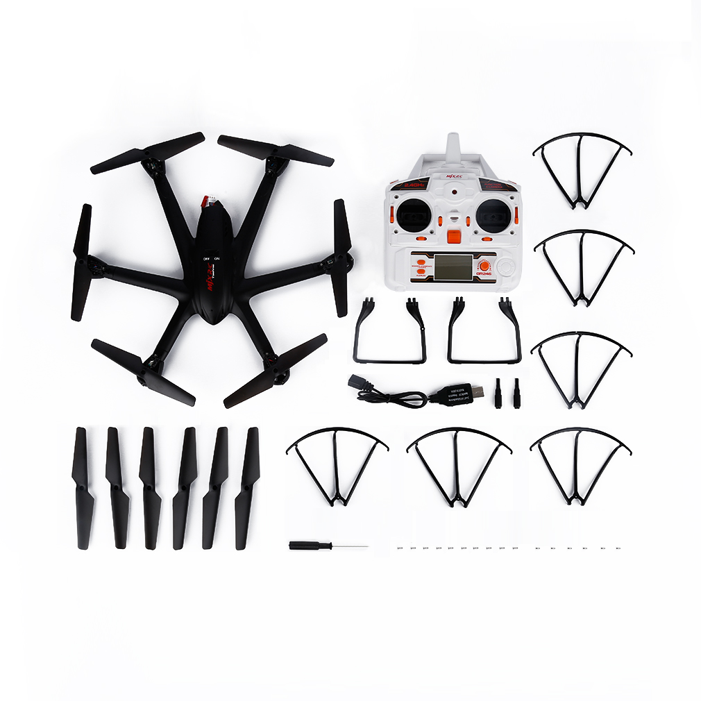 Black 2.4G 6 Axle FPV Wifi 3D Roll RC Quadcopter Helicopter Black for MJX X600