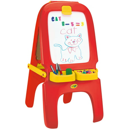 (Crayola 3-in-1 Magnetic/Dry Erase and Chalkboard Work Easel)