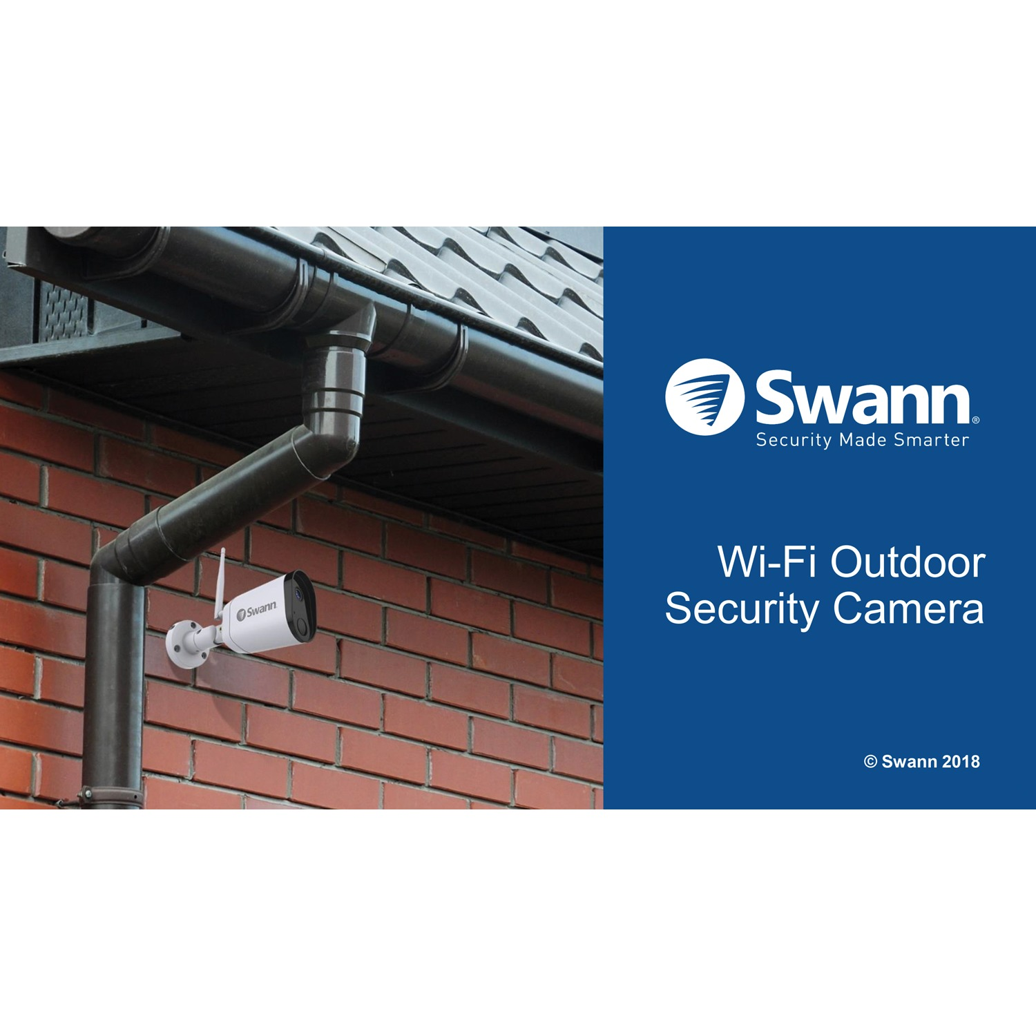 Swann SWWHD-OUTCAM-US 1080p Wi-Fi Outdoor Security Camera