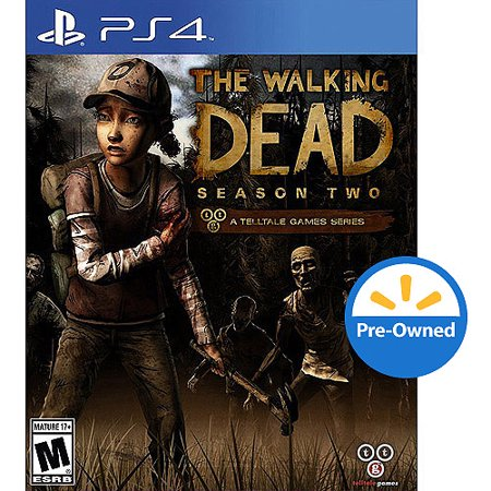 the walking dead season two ps4 pre owned. Black Bedroom Furniture Sets. Home Design Ideas