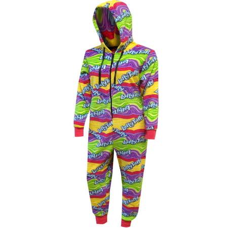 Laffy Taffy Candy Plush One Piece Pajamas