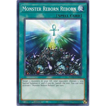 YuGiOh Flames of Destruction Monster Reborn Reborn FLOD-EN066