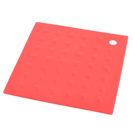 Dining Room Silicone Square Heat Resistant Plate Mat Table