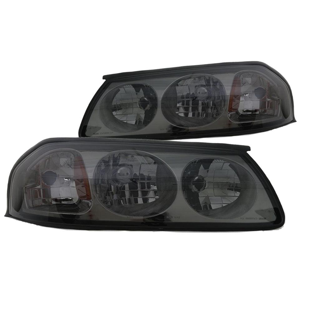2000-2005 Chevy Impala Replacement Headlights - Smoke Len...
