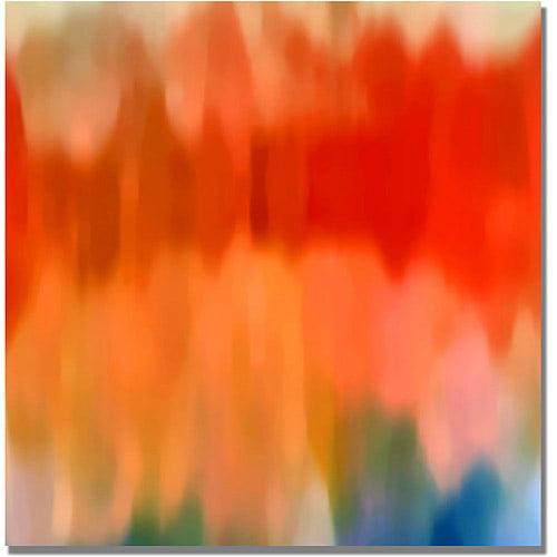 "Trademark Fine Art ""Abstract Watercolor II"" Canvas Wall Art by Amy Vangsgard"