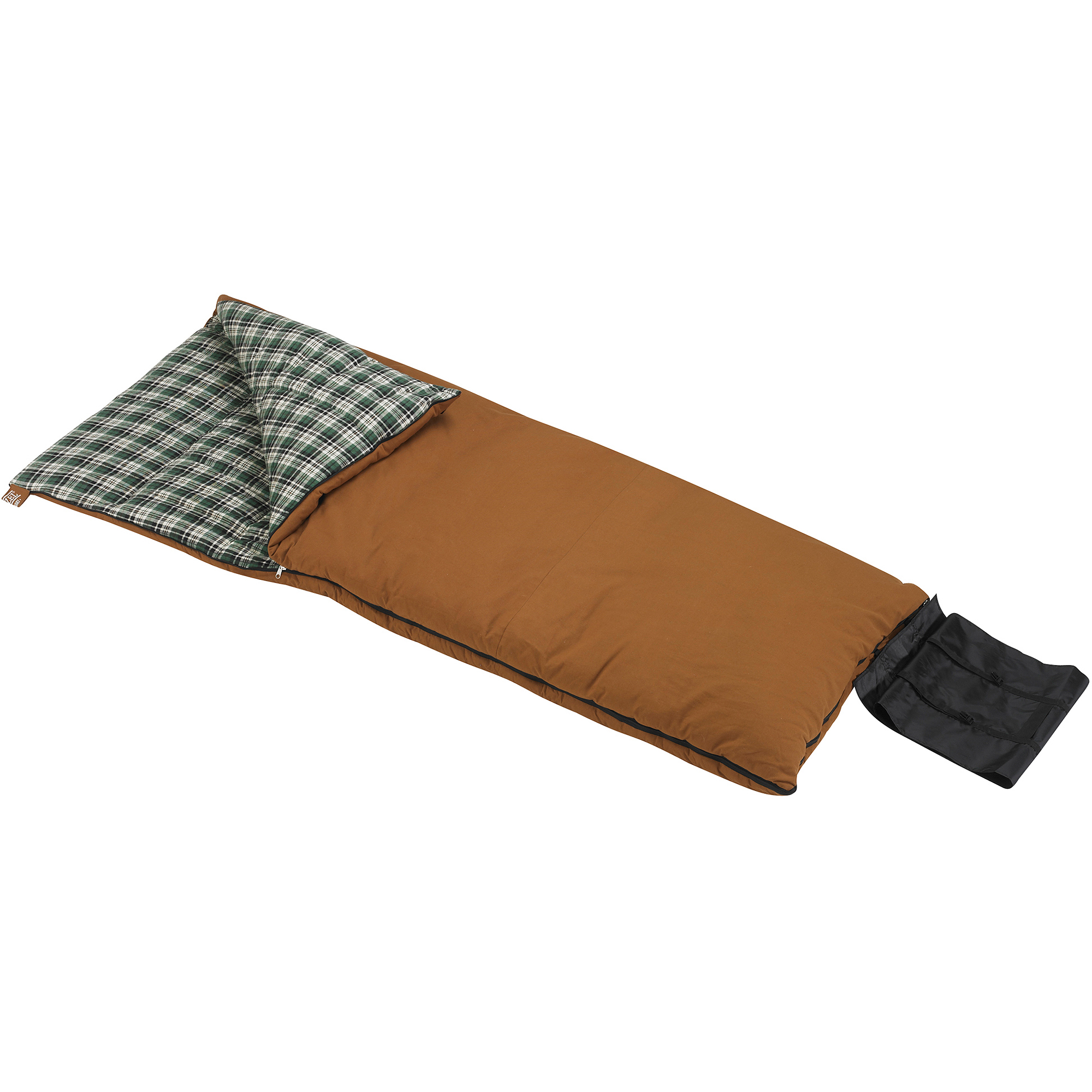 Wenzel Grande 0-Degree Sleeping Bag, Brown by Overstock