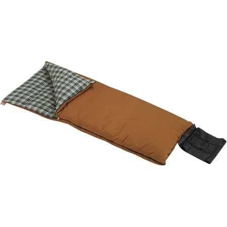 Wenzel Grande 0 Degree Sleeping Bag Brown