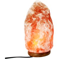 Courtside Market 5-7 lbs Small Ionic Natural Salt Crystal Lamp