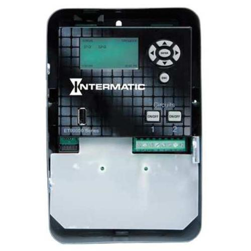 INTERMATIC ET90215C Electronic Timer, Astro 365 Days, SPDT