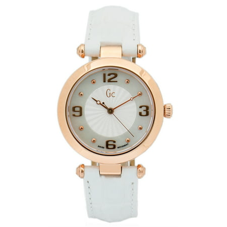 Guess Collection, Stainless Steel Case, White Dial and Strap, Women's Swiss Watch, Y17013L1