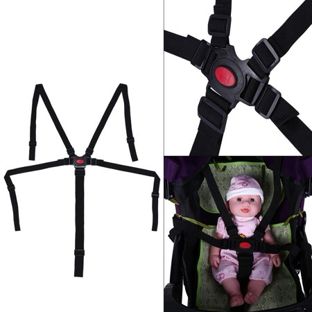 - WALFRONT Adjustable Baby Stroller Safety Strap Kids Dining Chair 5 Point Harness Child Pram Seat Belt, Baby Stroller Safety Strap,5 Point Harness Baby