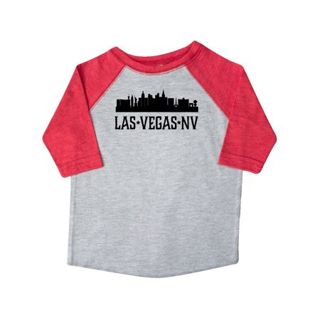 Las Vegas Nevada City Skyline Toddler T-Shirt - Nevada City Halloween