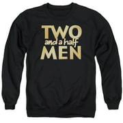 Two And A Half Men Logo Mens Crewneck Sweatshirt