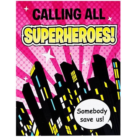 Superhero Girl Invitations](Superhero Party Invitations)