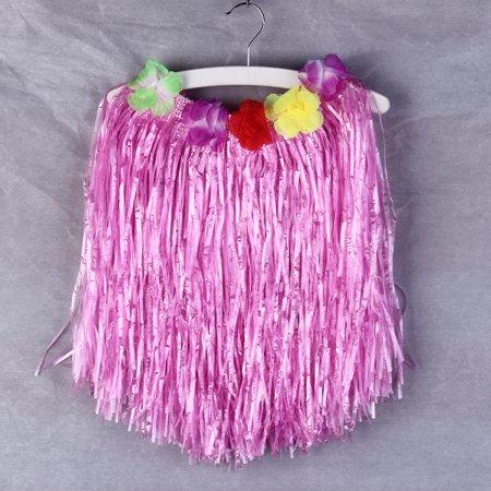 Fashion 40cm Hawaiian Hula Lei Garland Fancy Skirt Costume Grass Skirt Flower Drop Shipping Wholesale for $<!---->