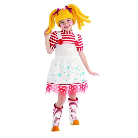 Lalaloopsy Deluxe Spot Splatter Splash Costume Child Toddler](Lalaloopsy Mittens Costume)