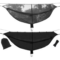 """Prevent Mosquito Net hammock, No See Repels Insects, Fits All Camping Hammocks, Compact, Lightweight, Fast Easy Setup, Size 133"""" x 55"""""""